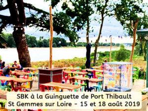 SBK à la Guinguette de Port Thibault à St Gemmes sur Loire